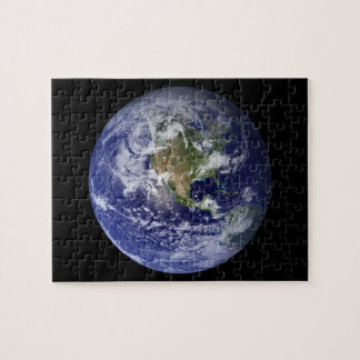 Western Hemisphere of Earth From Space Puzzles