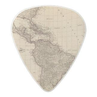 Western Hemisphere, South America Acetal Guitar Pick