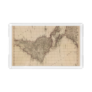 Western Hemisphere, South America Acrylic Tray
