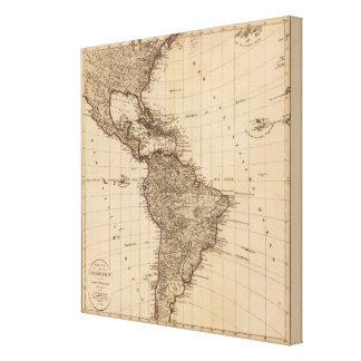 Western Hemisphere, South America Canvas Print