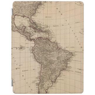 Western Hemisphere, South America iPad Cover
