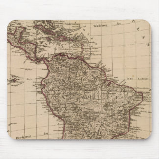Western Hemisphere, South America Mouse Mat