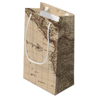 Western Hemisphere, South America Small Gift Bag