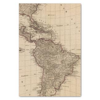 Western Hemisphere, South America Tissue Paper