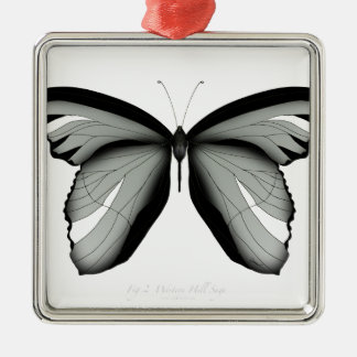 Western Hill Sage Butterfly Christmas Ornament