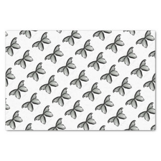 Western Hill Sage Butterfly Tissue Paper