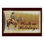 Western Holiday Cards