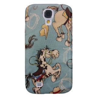 Western Horses Galaxy S4 Case