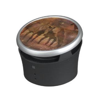 Western Horses Grazing Bluetooth Speaker