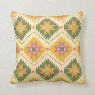 Western in Gold and Green Cushion