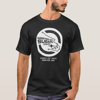 Western Iowa Subaru Cruise (Dark) T-Shirt