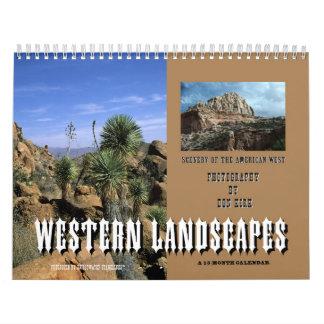 Western Landscapes Wall Calendar