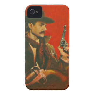 Western Lawman iPhone 4 Case-Mate Barely There