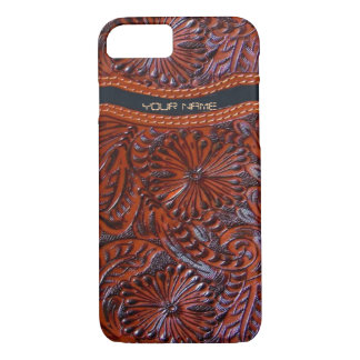 western leather look iPhone 7 case