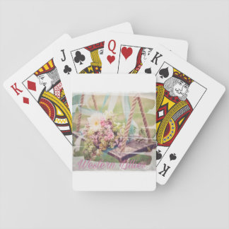 Western Lillies Card Set Playing Cards
