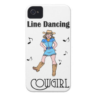 "Western ""Line Dancing Cowgirl"" iPhone 4 Case-Mate Case"