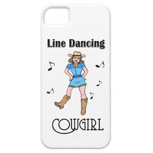 "Western ""Line Dancing Cowgirl"" iPhone 5 Cover"