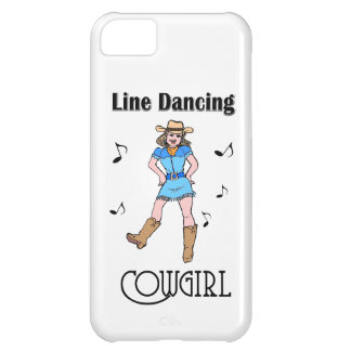 """Western """"Line Dancing Cowgirl"""" Case For iPhone 5C"""