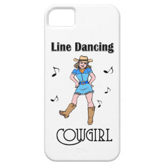 Western Line Dancing Cowgirl iPhone 5 Cover