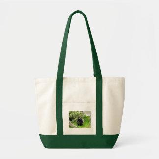 Western Lowland male silverback gorilla Tote Bag
