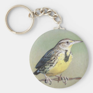 Western Meadowlark Key Ring
