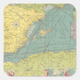 Western Mediterranean Square Sticker