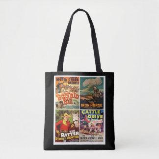 Western Movies #1 Tote Bag