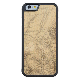Western Nevada Carved Maple iPhone 6 Bumper Case