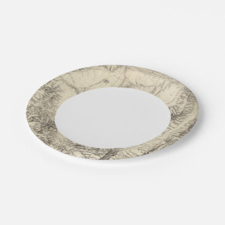 Western Nevada Paper Plate