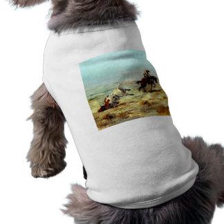 Western Nostalgia Doggie T Shirt