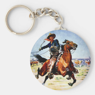 Western Nostalgia Key Ring