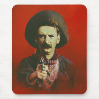 Western Outlaw Mouse Pad