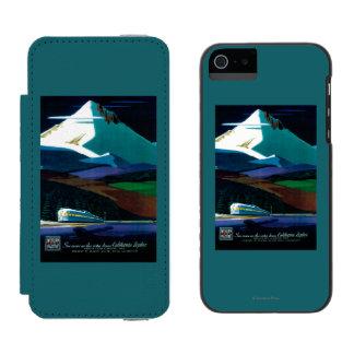 Western Pacific California Zephyr Vintage Poster Incipio Watson™ iPhone 5 Wallet Case