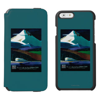 Western Pacific California Zephyr Vintage Poster Incipio Watson™ iPhone 6 Wallet Case