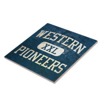 Western Pioneers Athletics Tile