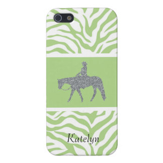 Western Pleasure Bling/Green iPhone 5/5S Case