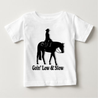Western Pleasure Horse Low and Slow Baby T-Shirt