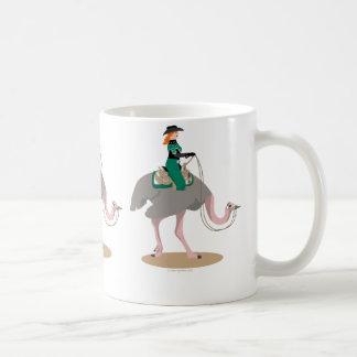 Western Pleasure Ostrich Coffee Mug