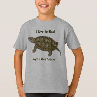Western Pond Turtle T-Shirt