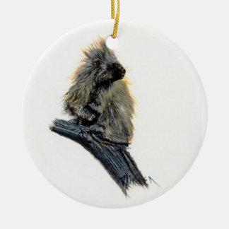 Western Porcupine Ornament