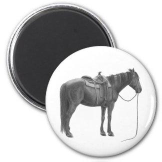 Western Quarter horse Magnet