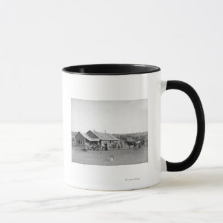 Western Ranch House in South Dakota Photograph Mug