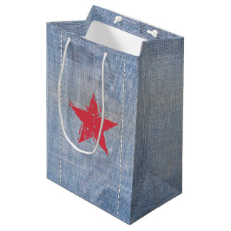 Western Roundup Star Gift Bag