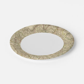 Western Russia, Poland 7 Inch Paper Plate