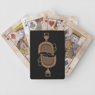 Western Saddle - Ranch or Farm Bicycle Playing Cards