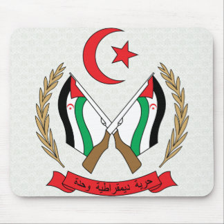 Western Sahara Coat of Arms detail Mouse Pad