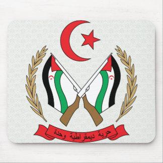 Western Sahara Coat of Arms detail Mousepads