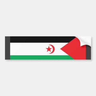 Western Sahara Flag Bumper Stickers