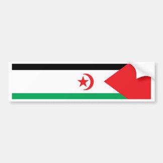 Western Sahara Flag Car Bumper Sticker