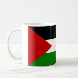 Western Sahara flag mug